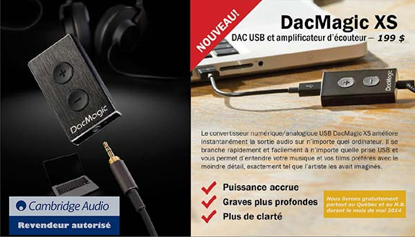 Dac Magic xs @$199 livré